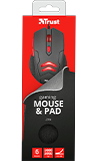 ZIVA GAMING MOUSE WITH MOUSE PAD