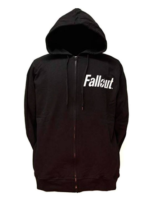 FALLOUT ZIP UP HOODIE