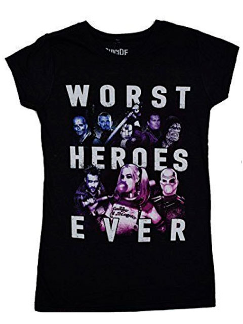 POLO SUICIDE SQUAD WORST HEROES JRS TALLA S